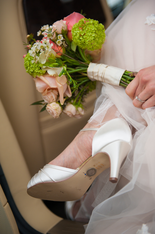 Bridal sixpence